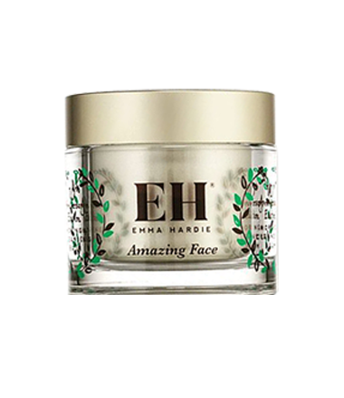 EMMA HARDIE MORINGA CLEANSING BALM WITH ROSEHIP EXFOLIATING SEEDS AND CLEANSING CLOTH