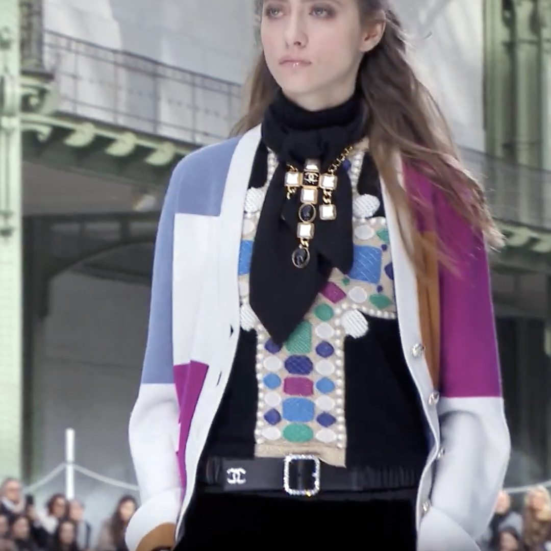 Picture 08 FASHION - THE CHANEL 2020/21 FALL/WINTER READY-TO-WEAR FASHION SHOW PARIS