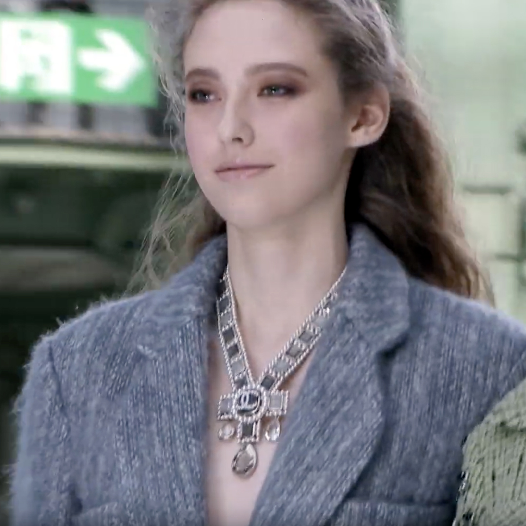 Picture 09 FASHION - THE CHANEL 2020/21 FALL/WINTER READY-TO-WEAR FASHION SHOW PARIS