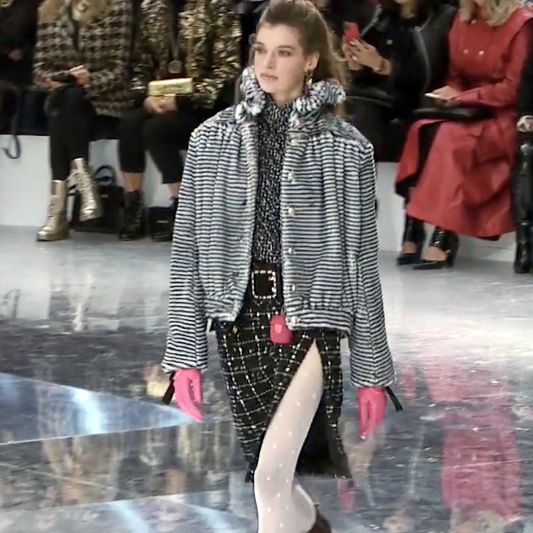 Picture 13 FASHION - THE CHANEL 2020/21 FALL/WINTER READY-TO-WEAR FASHION SHOW PARIS