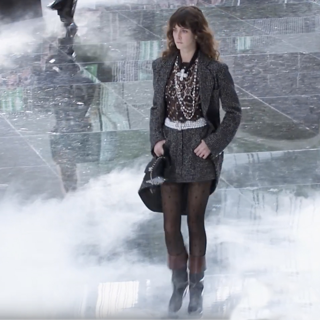 Picture 15 FASHION - THE CHANEL 2020/21 FALL/WINTER READY-TO-WEAR FASHION SHOW PARIS