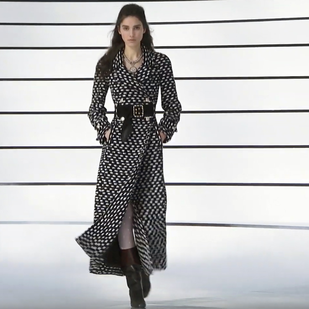 Picture 22 FASHION - THE CHANEL 2020/21 FALL/WINTER READY-TO-WEAR FASHION SHOW PARIS