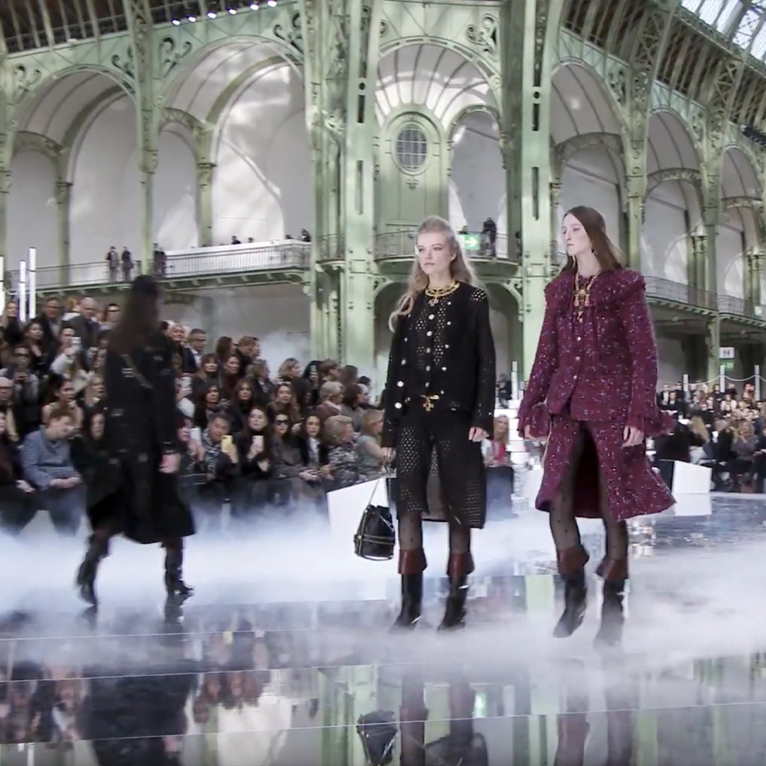 Picture 23 FASHION - THE CHANEL 2020/21 FALL/WINTER READY-TO-WEAR FASHION SHOW PARIS