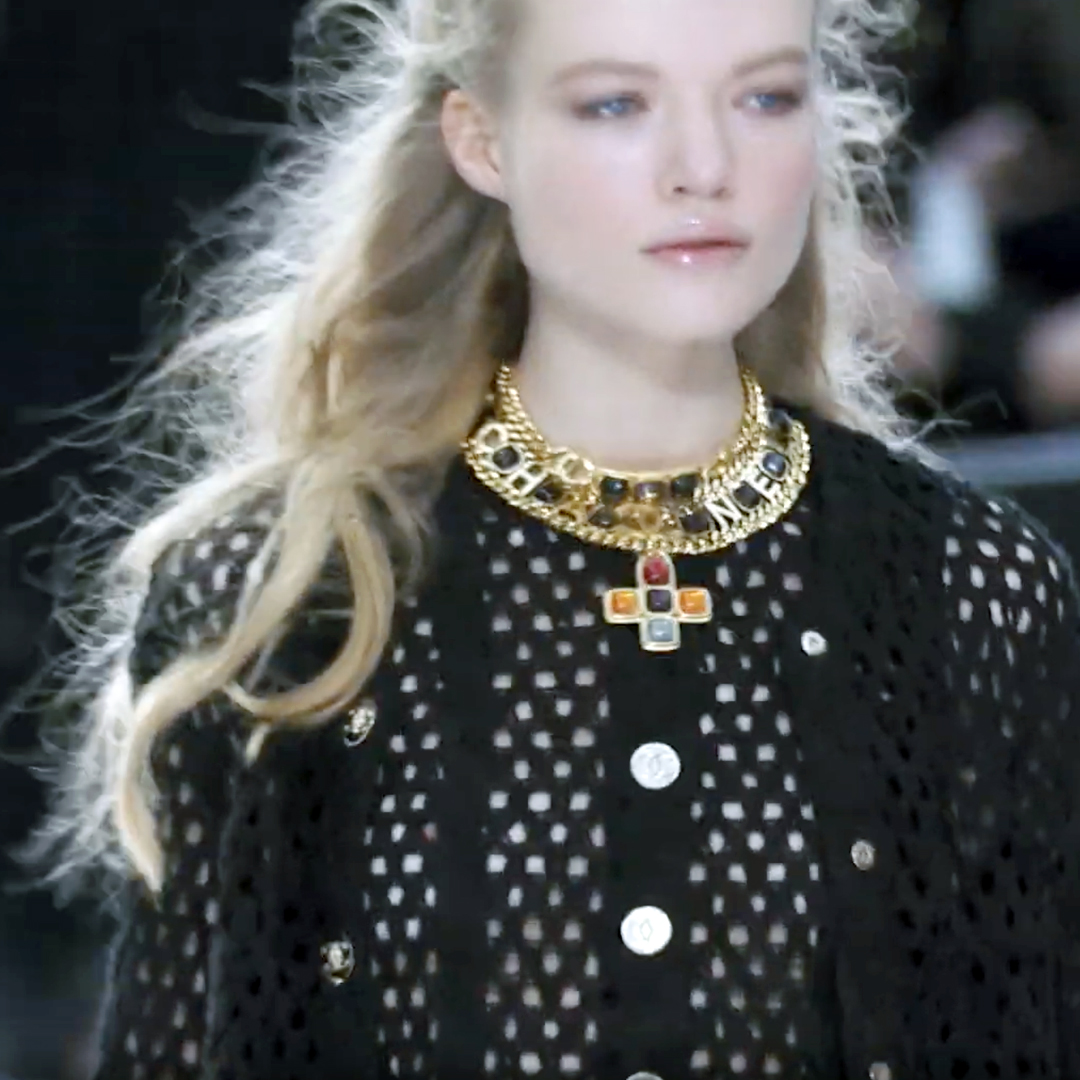 Picture 24 FASHION - THE CHANEL 2020/21 FALL/WINTER READY-TO-WEAR FASHION SHOW PARIS