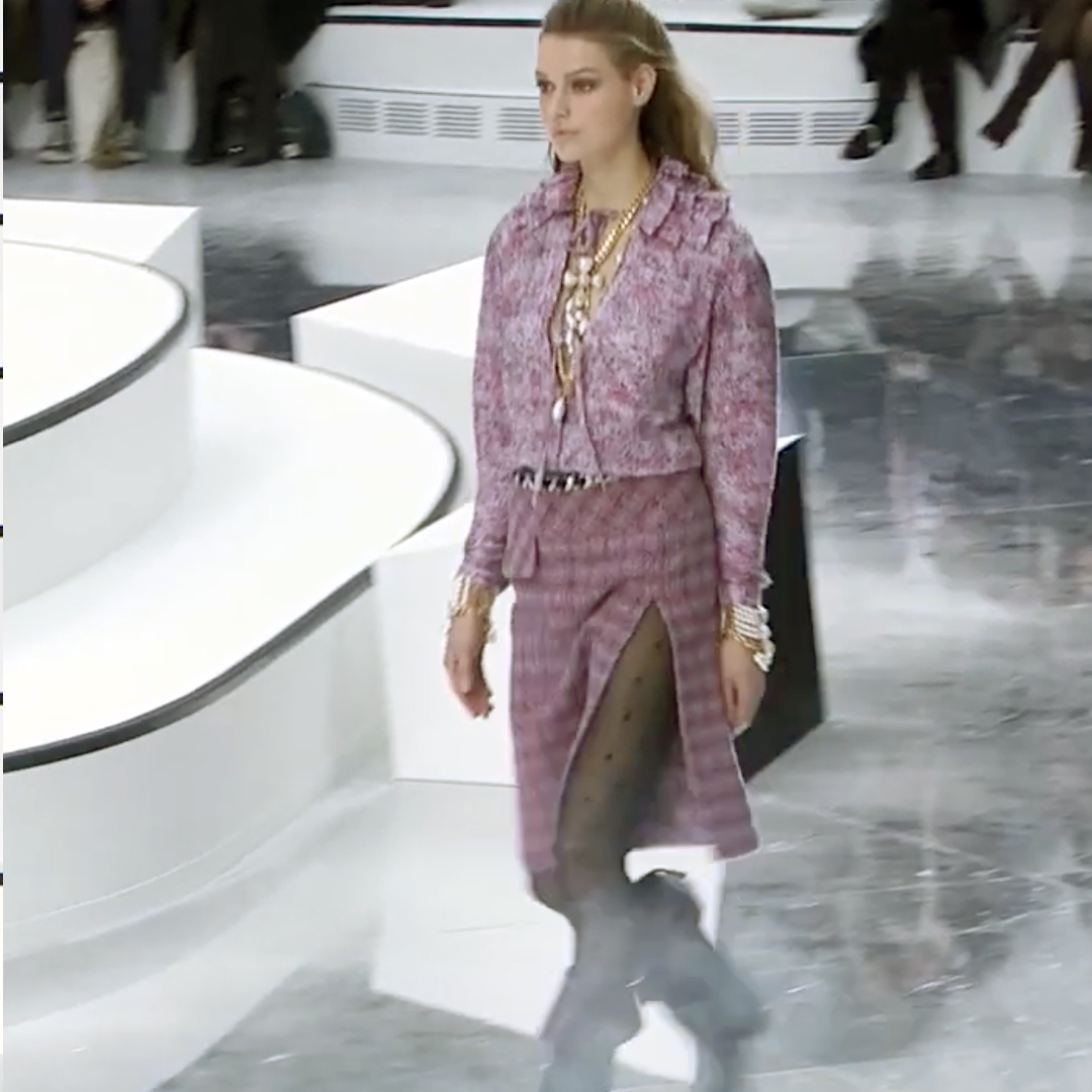 Picture 26 FASHION - THE CHANEL 2020/21 FALL/WINTER READY-TO-WEAR FASHION SHOW PARIS