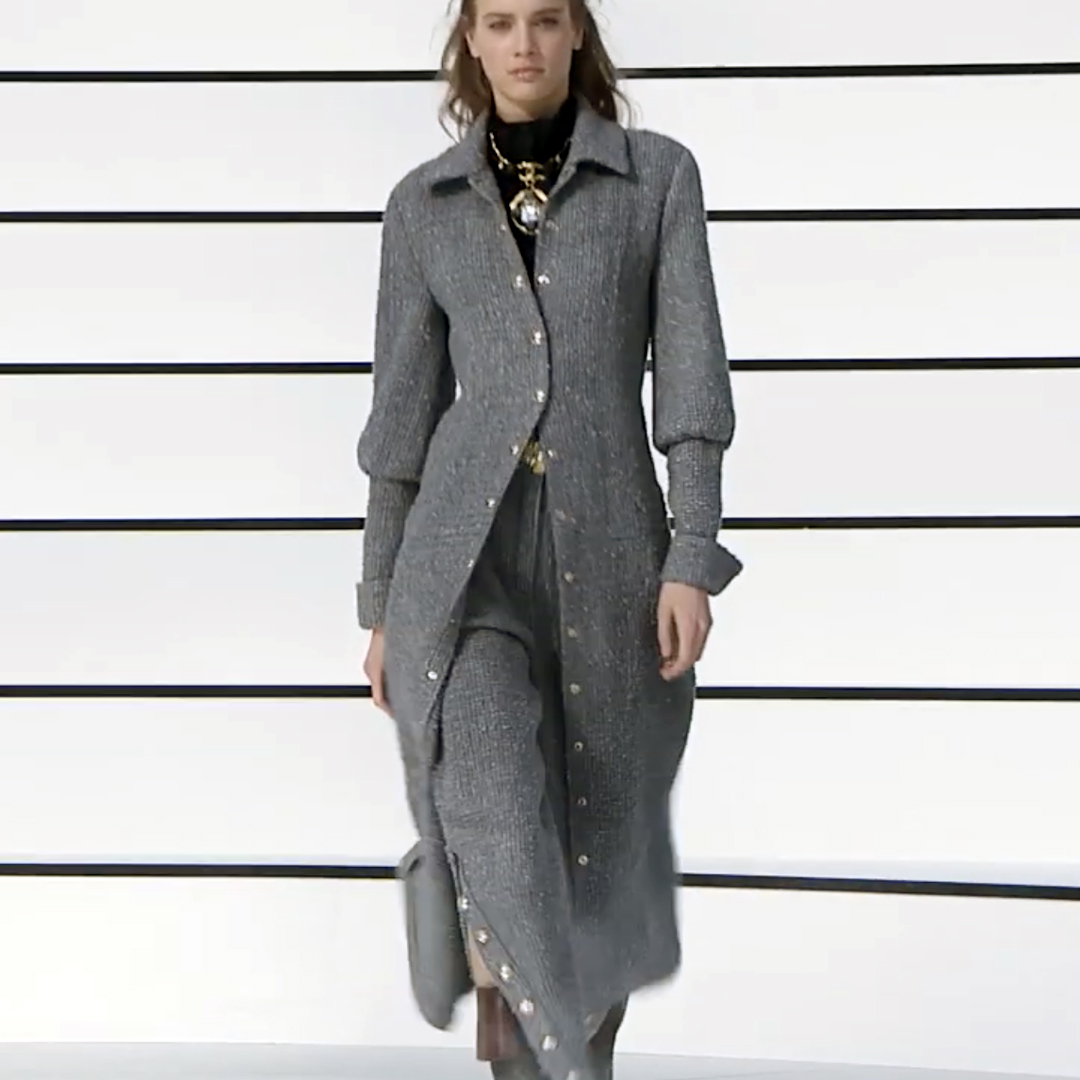 Picture 27 FASHION - THE CHANEL 2020/21 FALL/WINTER READY-TO-WEAR FASHION SHOW PARIS