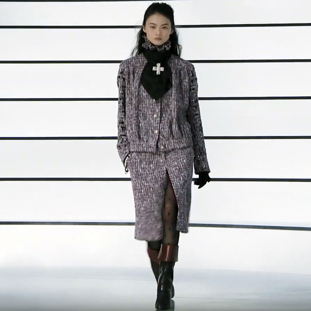 Picture 29 FASHION - THE CHANEL 2020/21 FALL/WINTER READY-TO-WEAR FASHION SHOW PARIS