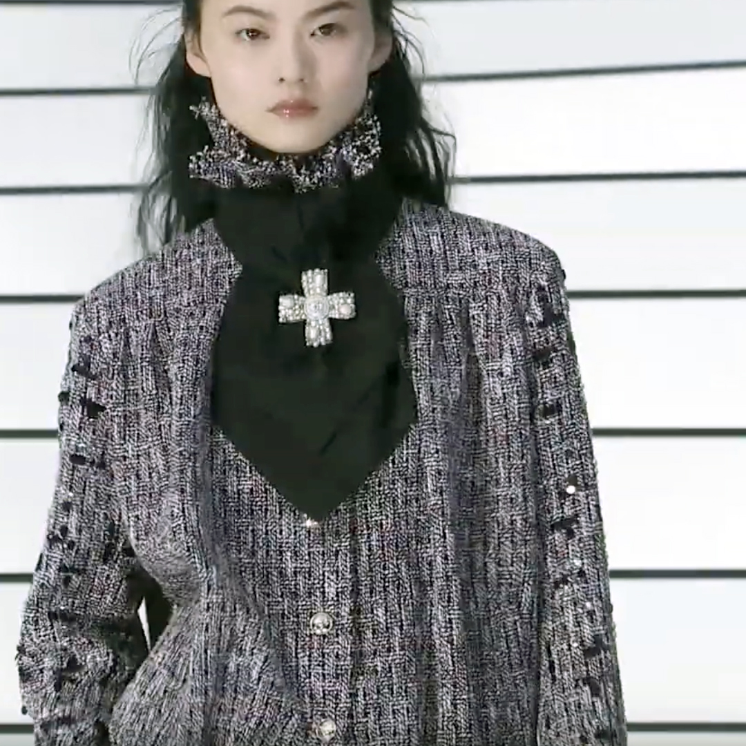 Picture 30 FASHION - THE CHANEL 2020/21 FALL/WINTER READY-TO-WEAR FASHION SHOW PARIS