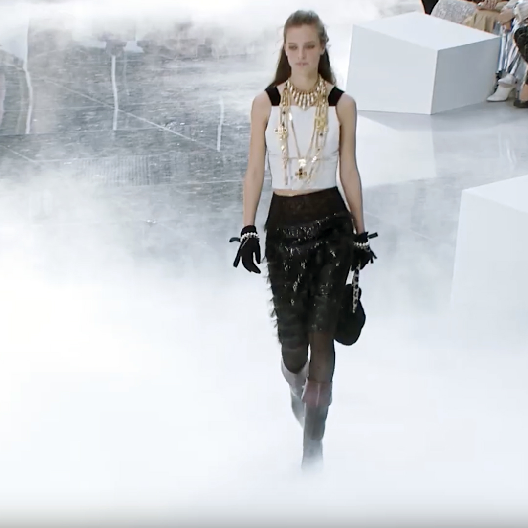 Picture 33 FASHION - THE CHANEL 2020/21 FALL/WINTER READY-TO-WEAR FASHION SHOW PARIS