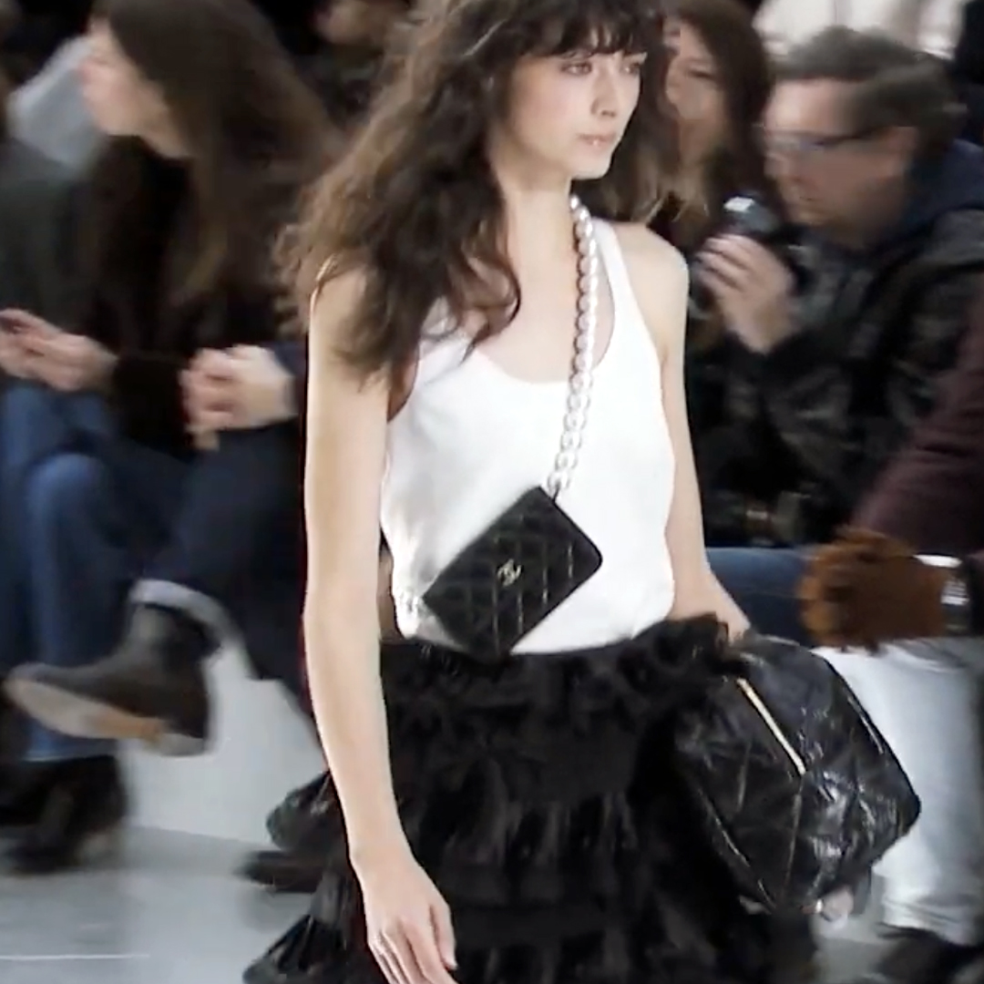Picture 39 FASHION - THE CHANEL 2020/21 FALL/WINTER READY-TO-WEAR FASHION SHOW PARIS