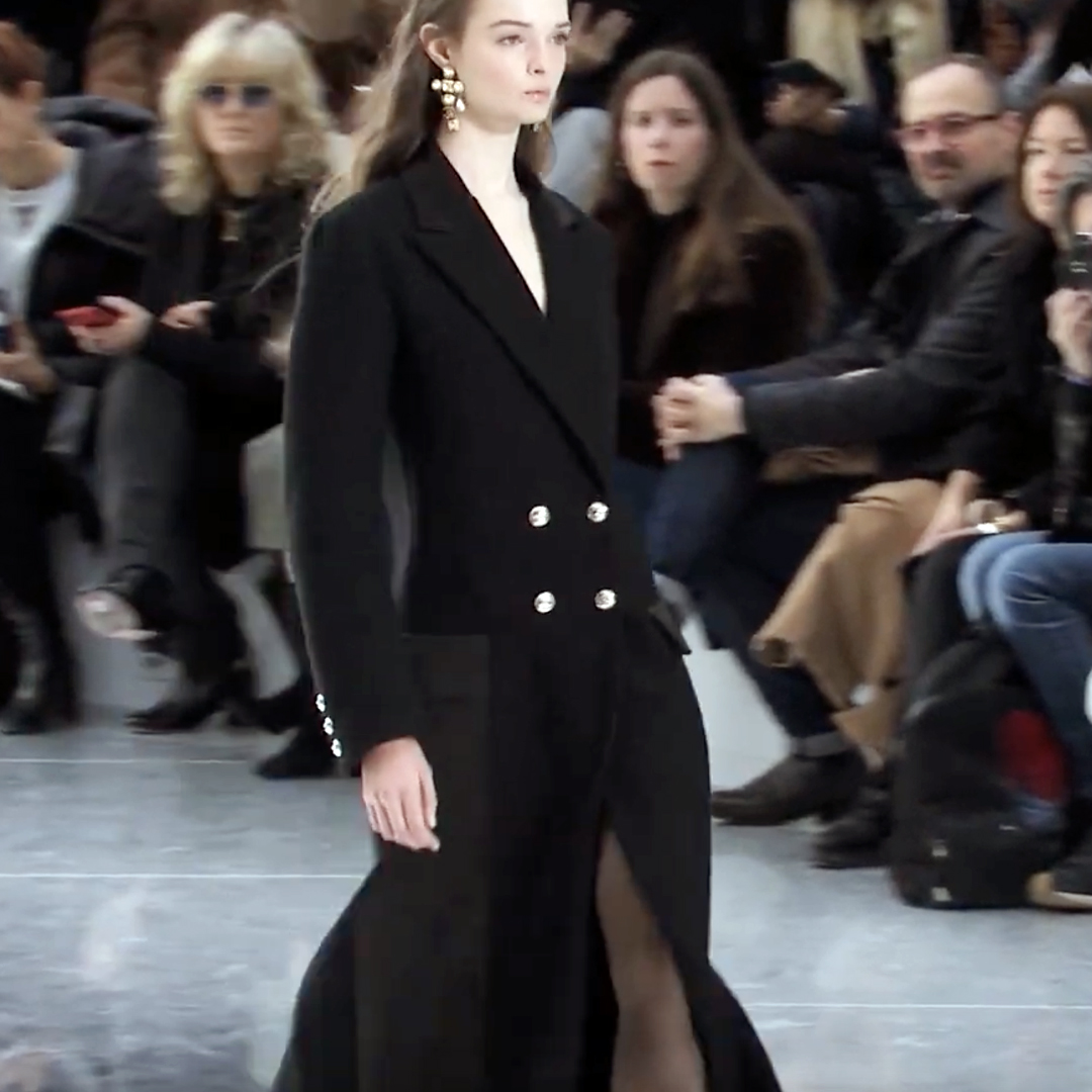 Picture 40 FASHION - THE CHANEL 2020/21 FALL/WINTER READY-TO-WEAR FASHION SHOW PARIS