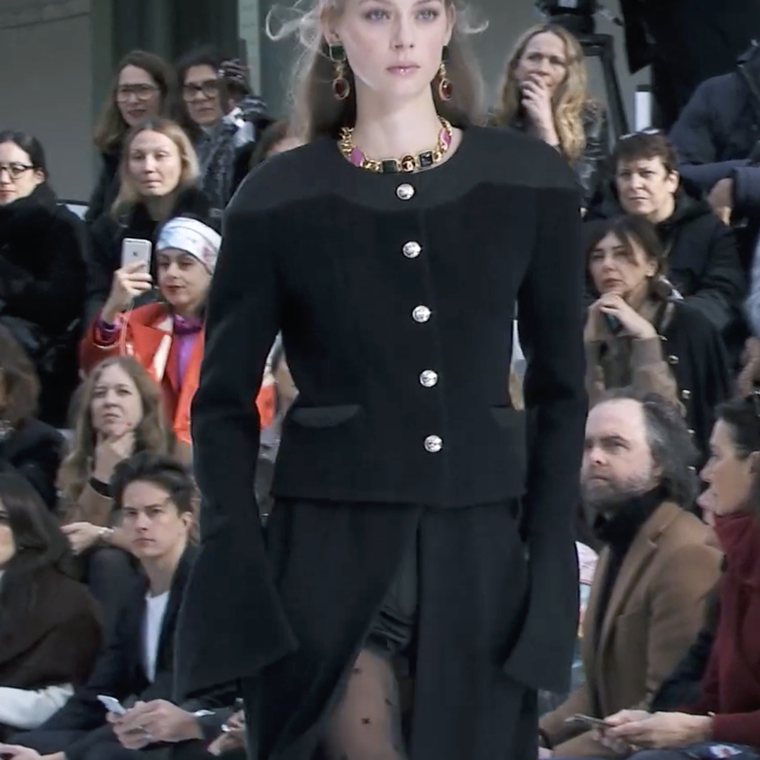 Picture 45 FASHION - THE CHANEL 2020/21 FALL/WINTER READY-TO-WEAR FASHION SHOW PARIS