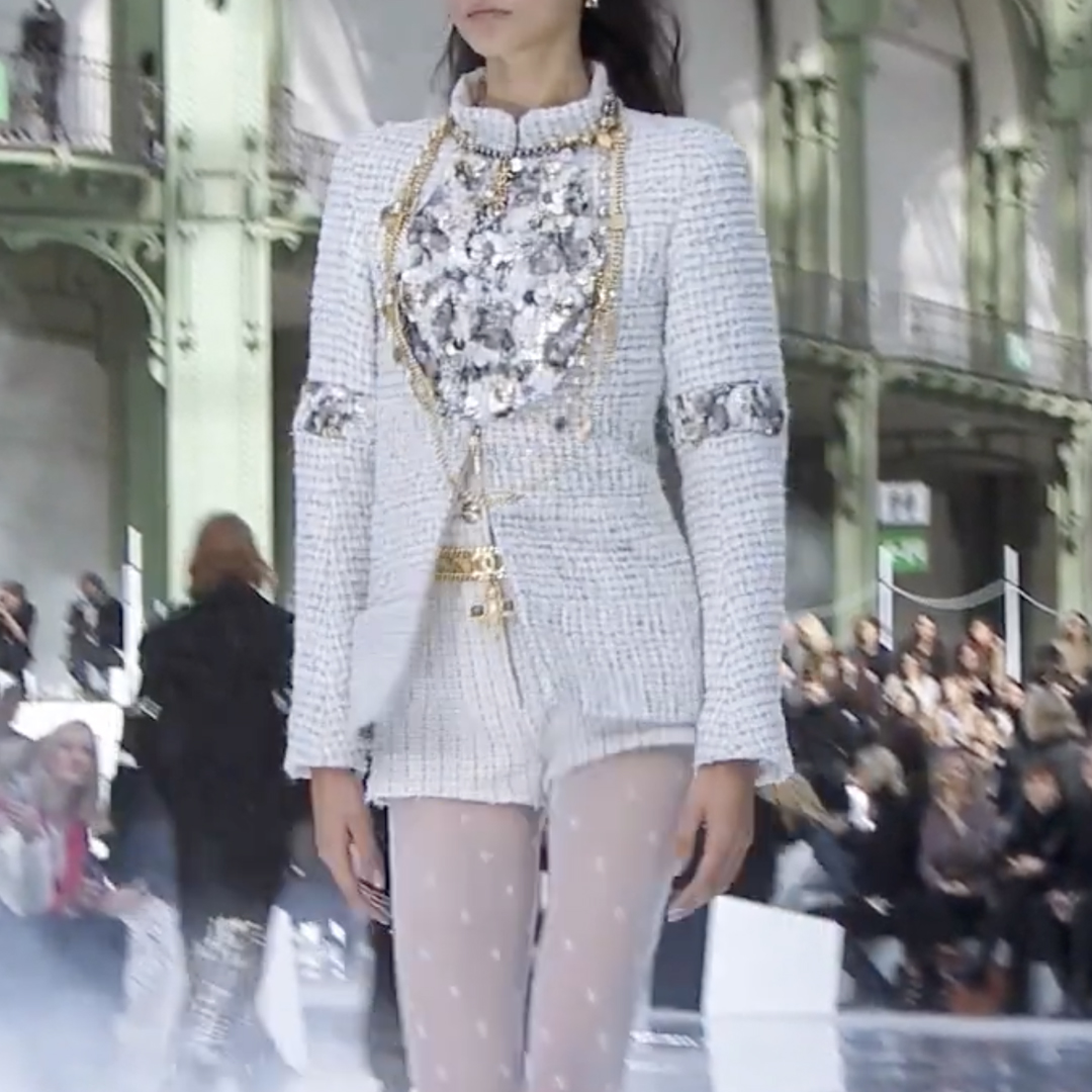 Picture 47 FASHION - THE CHANEL 2020/21 FALL/WINTER READY-TO-WEAR FASHION SHOW PARIS