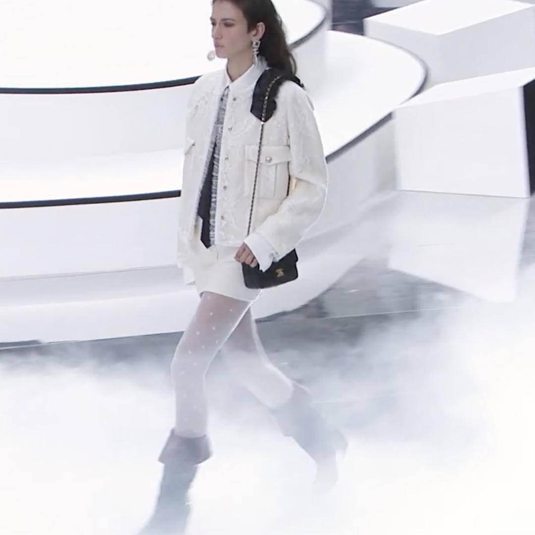 Picture 53 FASHION - THE CHANEL 2020/21 FALL/WINTER READY-TO-WEAR FASHION SHOW PARIS