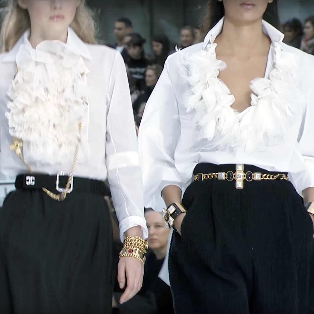 Picture 55 FASHION - THE CHANEL 2020/21 FALL/WINTER READY-TO-WEAR FASHION SHOW PARIS
