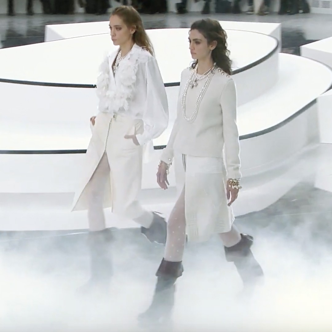 Picture 56 FASHION - THE CHANEL 2020/21 FALL/WINTER READY-TO-WEAR FASHION SHOW PARIS