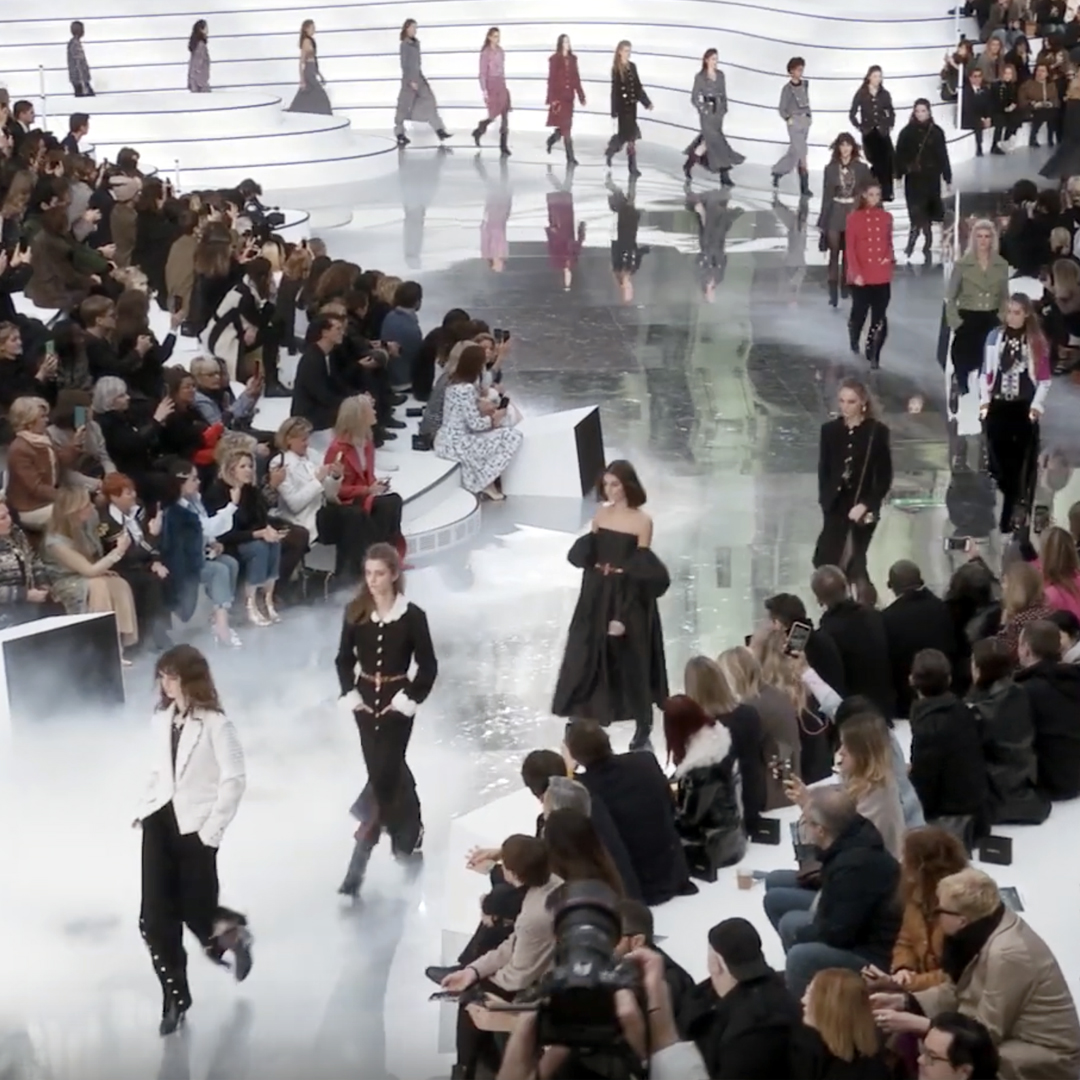 Picture 58 FASHION - THE CHANEL 2020/21 FALL/WINTER READY-TO-WEAR FASHION SHOW PARIS