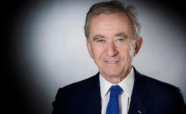 Bernard Arnault has acquired a one-quarter stake in Arnaud Lagardère's holding company - Lagardère Capital & Management