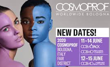 COSMOPROF WORLDWIDE BOLOGNA EXHIBITION POSTPONED