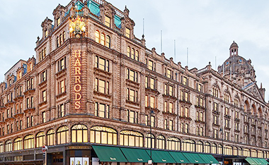 NEWS - HARRODS will open the first outlet store in London to solve the problem of seasonal products