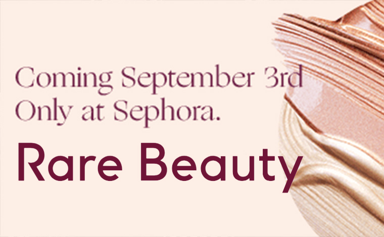 NEWS - RARE BEAUTY BY SELENA GOMES CAN BE PURCHASED AT SEPHORA SOON