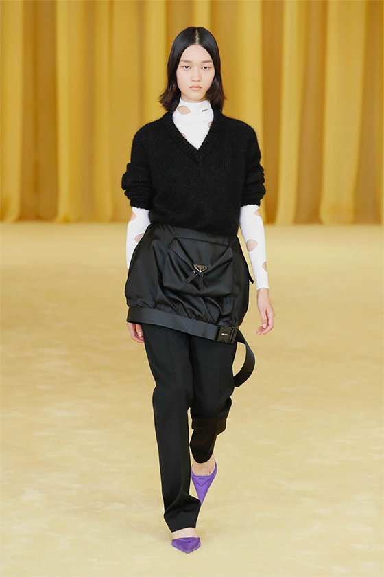 LOOK 11 PRADA SS 2021 WOMEN COLLECTION