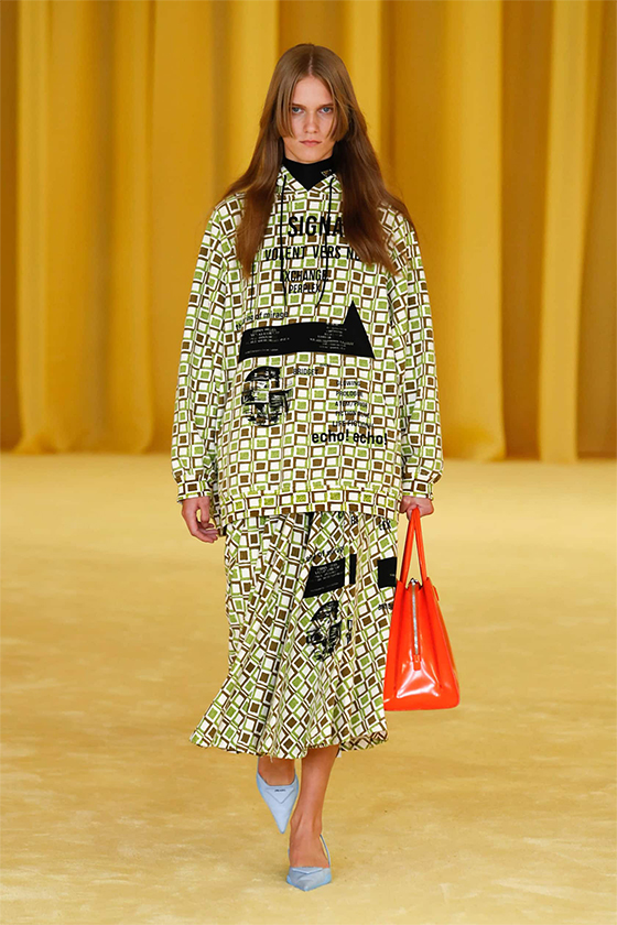 LOOK 13 PRADA SS 2021 WOMEN COLLECTION