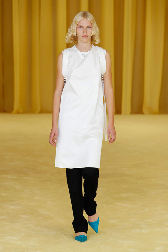 LOOK 17 PRADA SS 2021 WOMEN COLLECTION