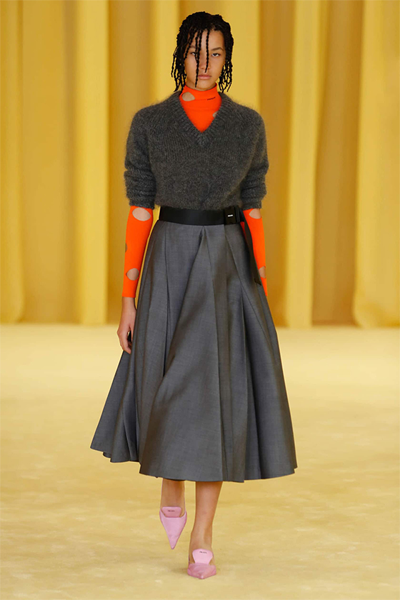 LOOK 19 PRADA SS 2021 WOMEN COLLECTION