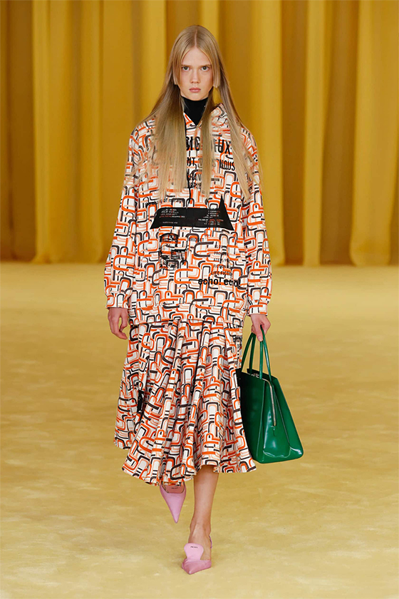 LOOK 21 PRADA SS 2021 WOMEN COLLECTION