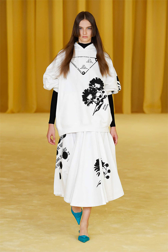 LOOK 22 PRADA SS 2021 WOMEN COLLECTION