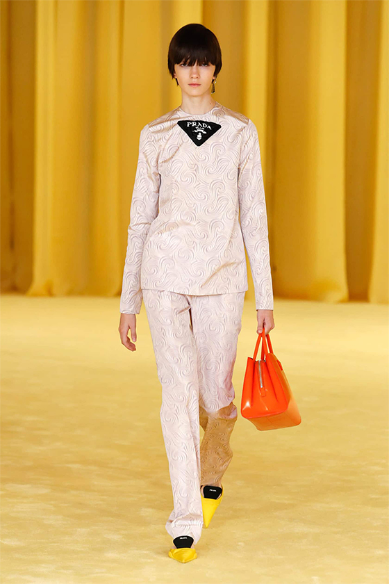 LOOK 24 PRADA SS 2021 WOMEN COLLECTION