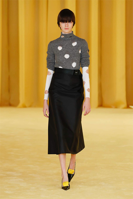 LOOK 25 PRADA SS 2021 WOMEN COLLECTION
