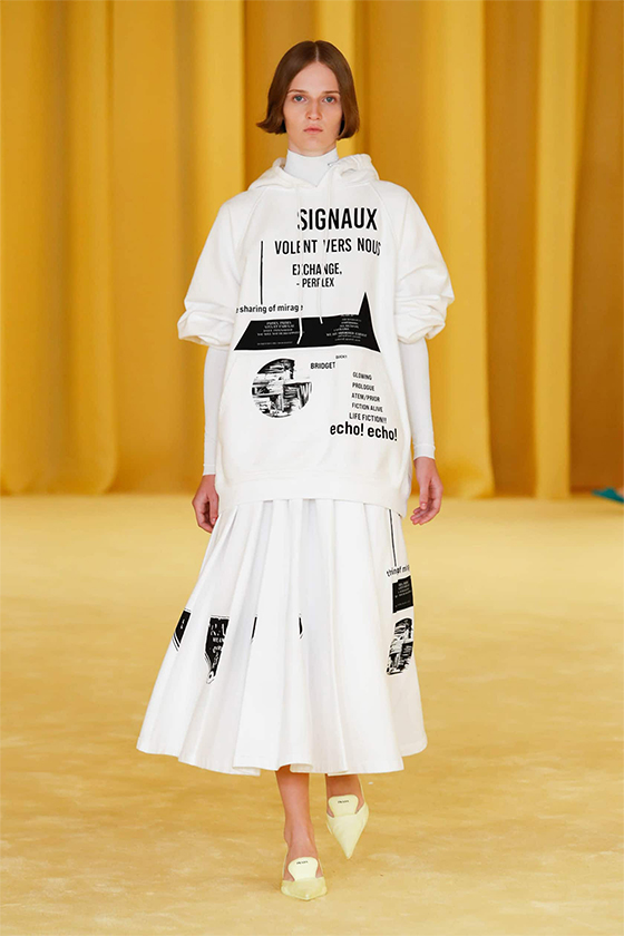 LOOK 26 PRADA SS 2021 WOMEN COLLECTION