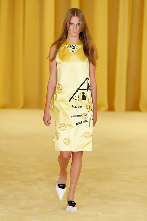 LOOK 39 PRADA SS 2021 WOMEN COLLECTION
