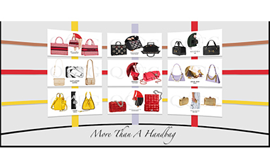 It was only until the beginning of the 20th century that handbags became women's accessories.