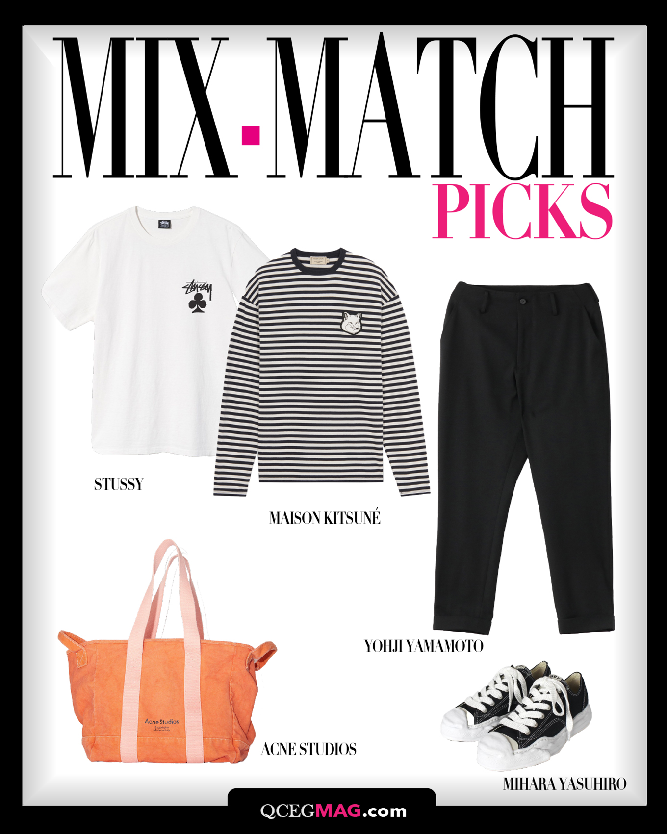 Mix-Match Women 01 Selection For APRIL 2021 - S'YTE, Y'S, COS, MAISON MICHEL, CHANEL, CARTIER, VALENTINO