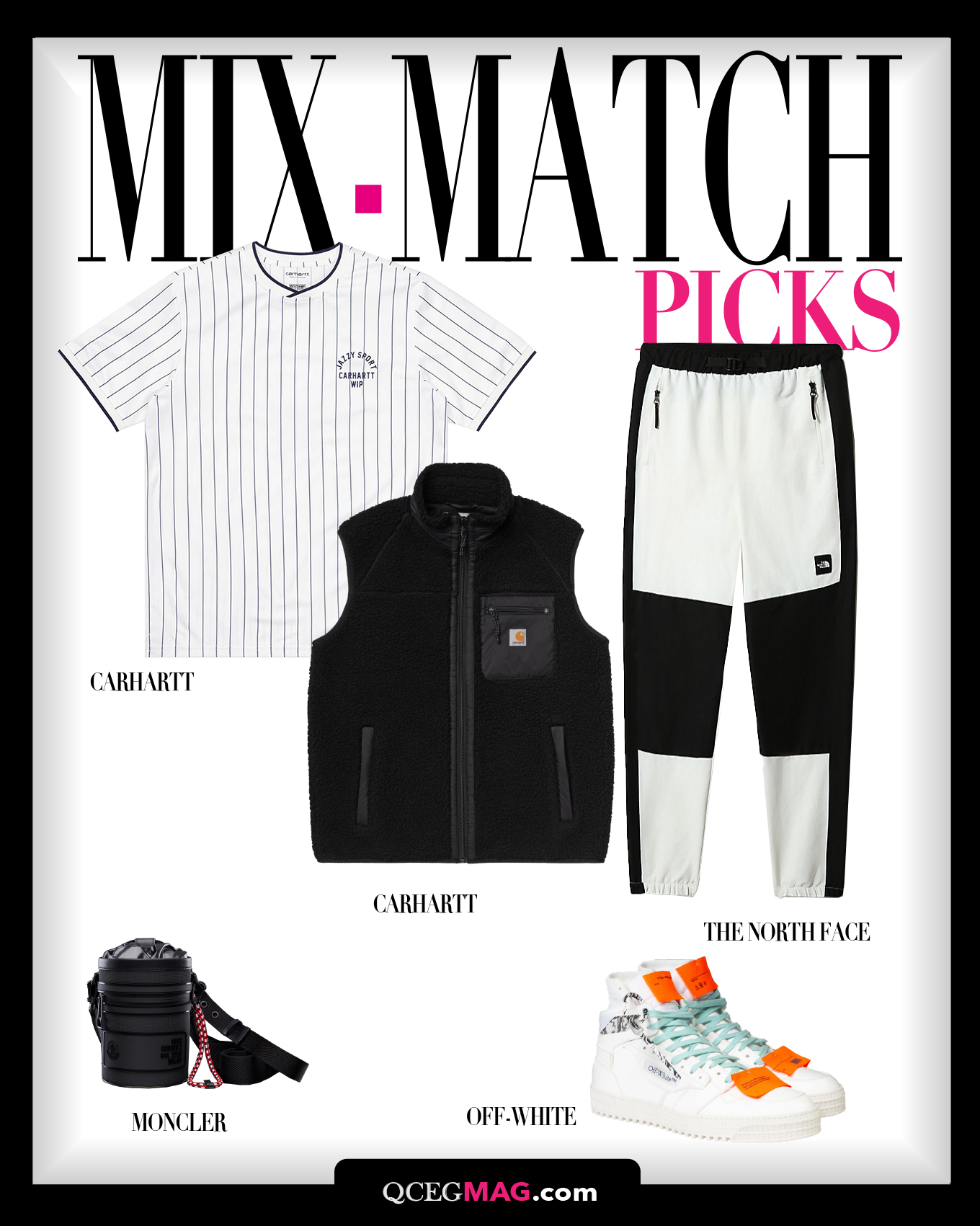 Mix-Match Men 03 Selection For APRIL 2021 - BOGGI, H & M, GENTLE MONSTER, LORD PIANA
