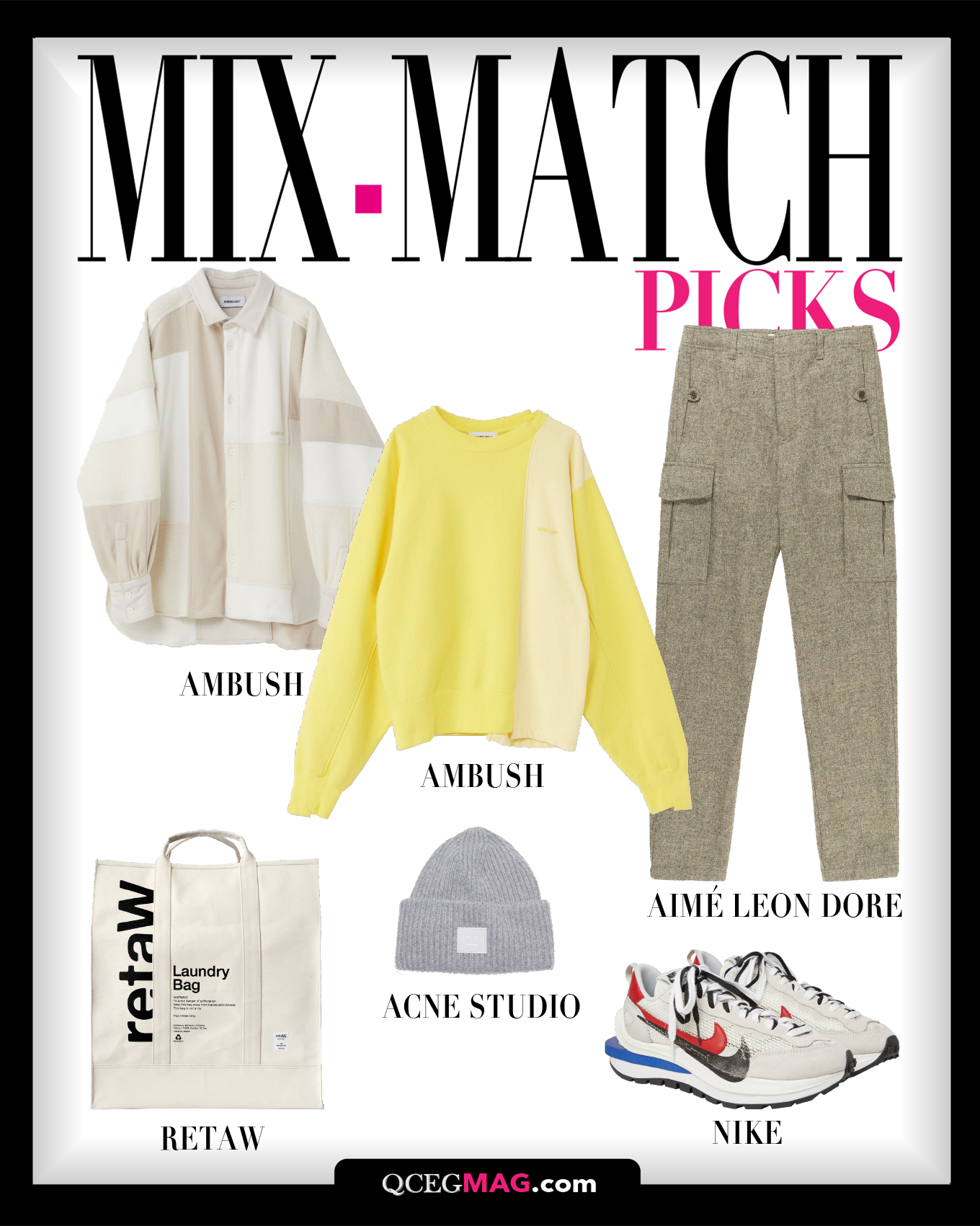 Mix-Match Men 01 Selection For February 2021