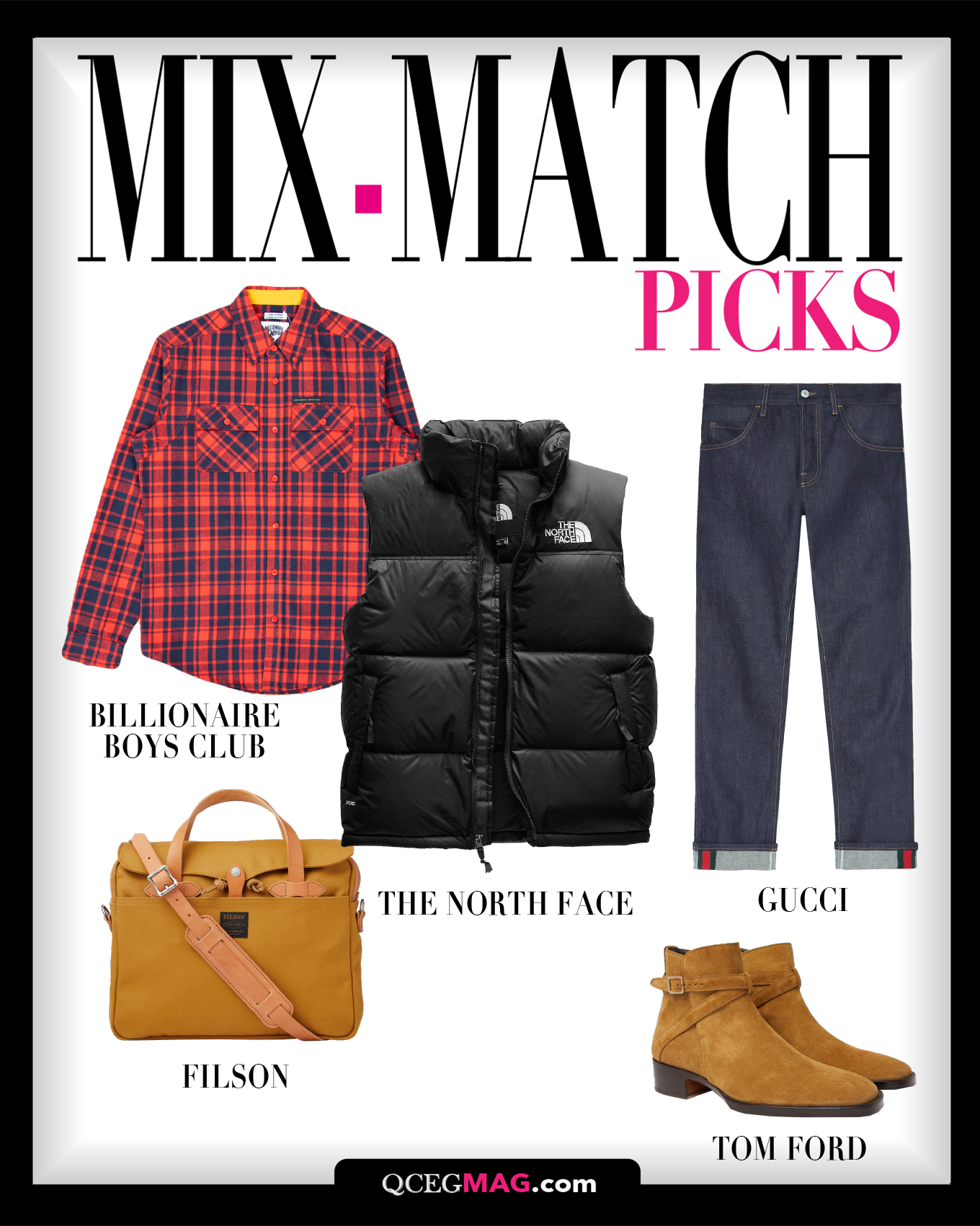 Mix-Match Men 02 Selection For February 2021