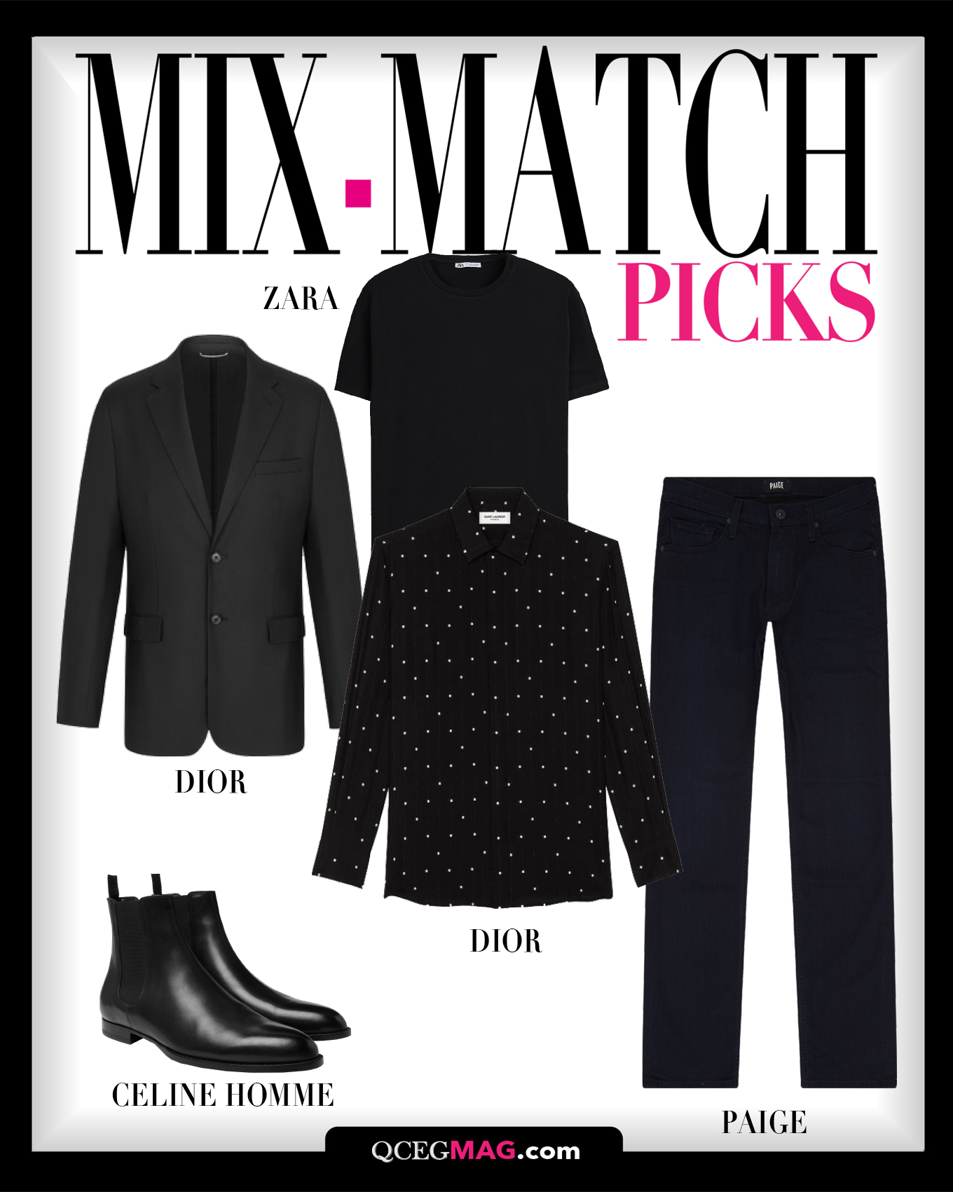 Mix-Match Men 04 Selection For February 2021