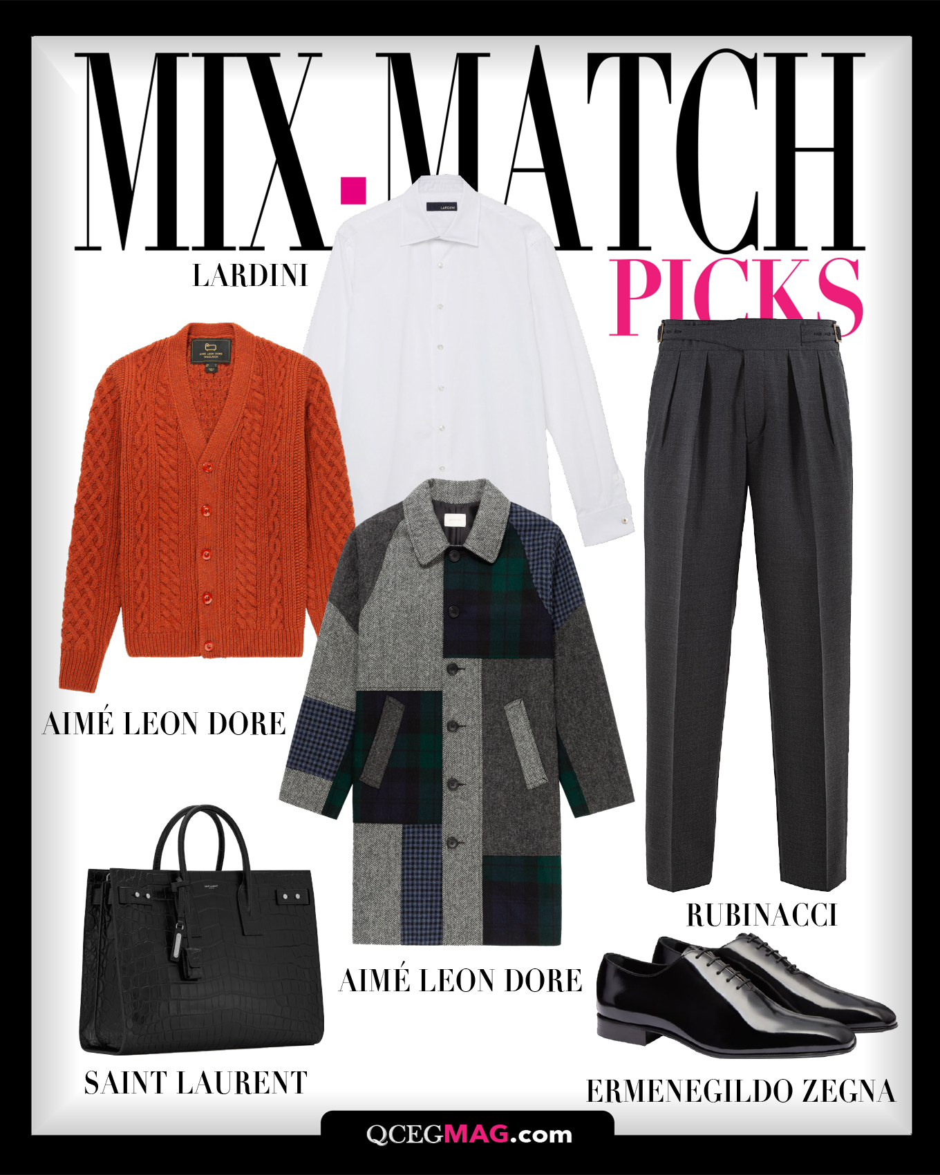 Mix-Match Men 05 Selection For February 2021